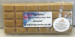 85 gram Highly Scented Wax Melt bar (ALMOND)